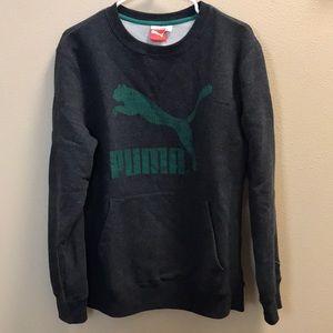 Puma Charcoal colored sweatshirt Size M